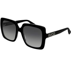Gucci Grey Square Ladies Sunglasses